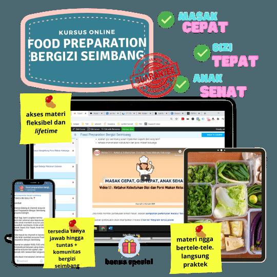 food preparation bergizi seimbang