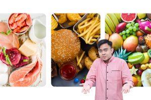 Menentukan jatah makan sesuai gizi seimbang